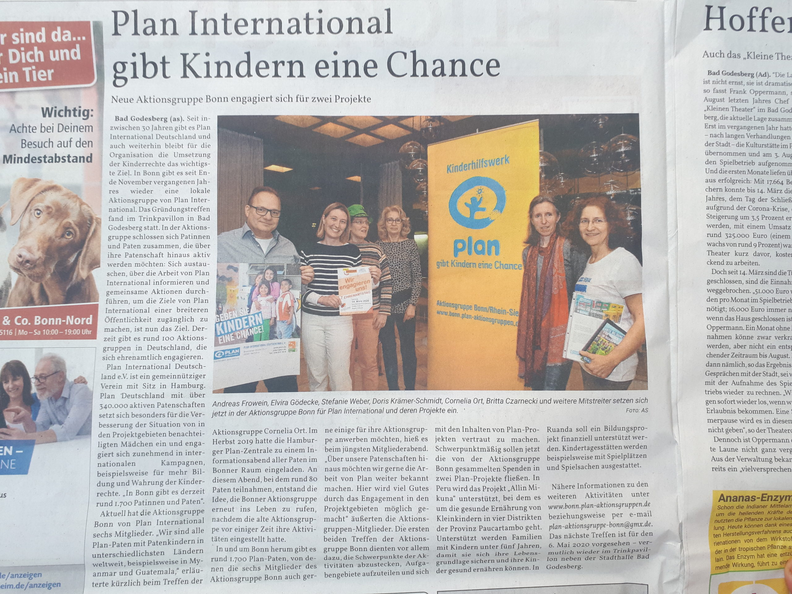 Plan International gibt Kindern eine Chance